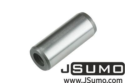Jsumo - Ø12 x 30mm Hardened Steel Shaft (with M6 Threaded Hole)