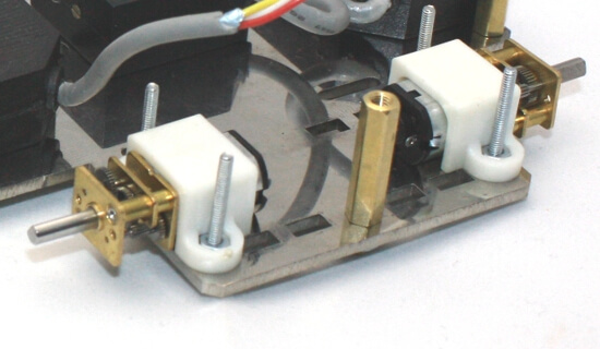 12mm Motor Brackets (Pair)