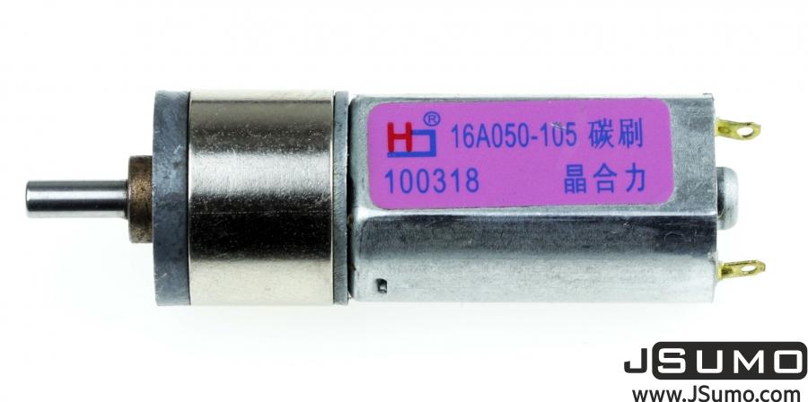 12V 260RPM High Torque Mini Gear Motor