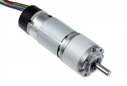 - 12V 430 RPM DC Motor w/Encoder