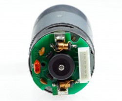 12V 75RPM (100:1) 37D Metal Gear Motor HP with Encoder - Thumbnail