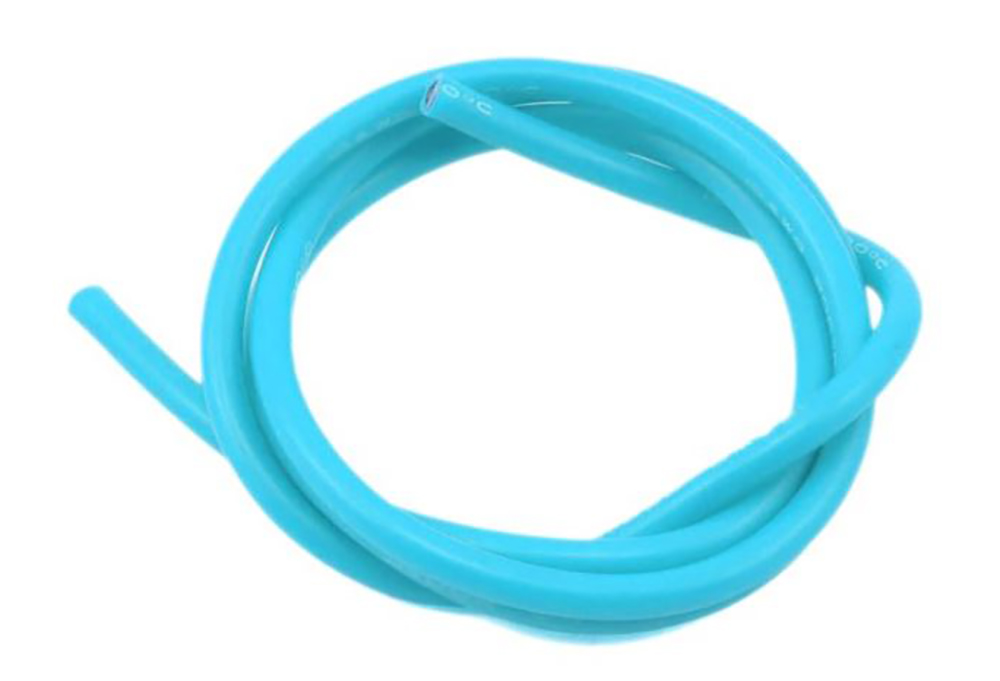 16 AWG Thick Multi Stranded Copper-Silicon Cable - Blue 1 Meter