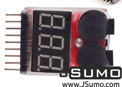 - LiPo Buzzer Battery Voltage Indicator Volt Meter (Tester With Alarm) (1)
