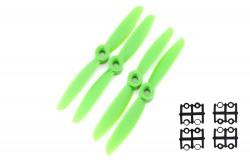- 2 Blade 6045 Propeller Set - Green (4pcs)