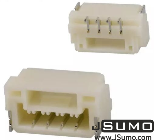 2 Pos Connector 1.25mm Side Input, SMD