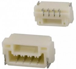 2 Pos Connector 1.25mm Side Input, SMD - Thumbnail