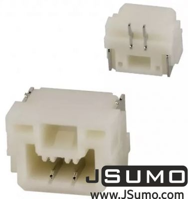 JST - 2 Pos Connector 1.25mm Top Input, SMD