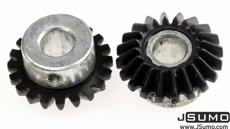 20T 8mm Hole Bevel Gear Set