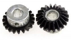 20T 8mm Hole Bevel Gear Set - Thumbnail