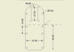 25mm Motor Mount Pair (For 25mm Series) - Thumbnail
