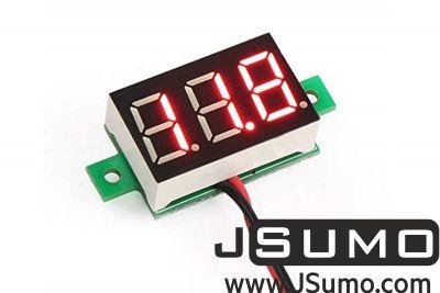 - 2.5V - 30V Mini Digital Voltmeter