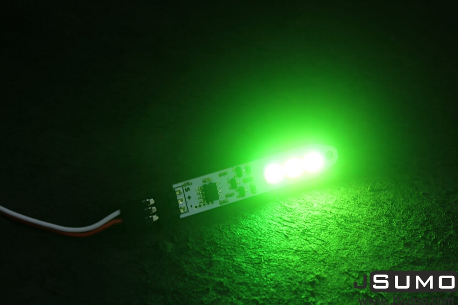 3 Led Array RC Control Rainbow Stick Module