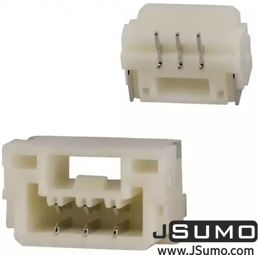 3 Pos Connector 1.25mm Top Input, SMD