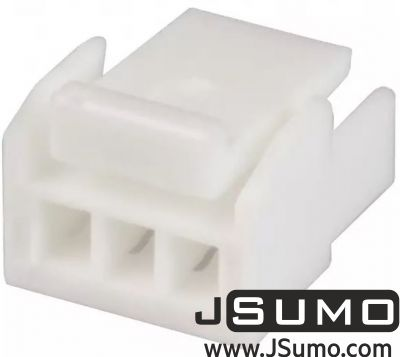 JST - 3 Pos Connector Housing 1.25mm Pitch