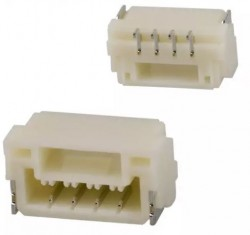 4 Pos Connector 1.25mm Side Input, SMD - Thumbnail