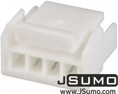 JST - 4 Pos Connector Housing 1.25mm Pitch
