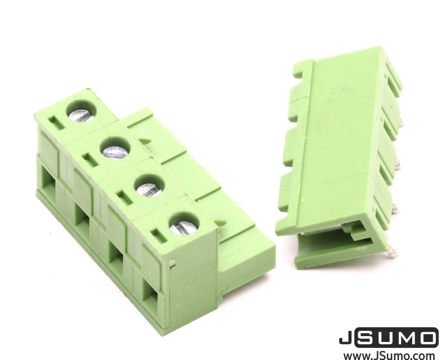 4 Way Pluggable Terminal Block (5.08mm Pin Spacing)