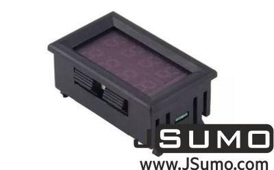 - 4V-30V 10A Amper Meter (Panel Mount)