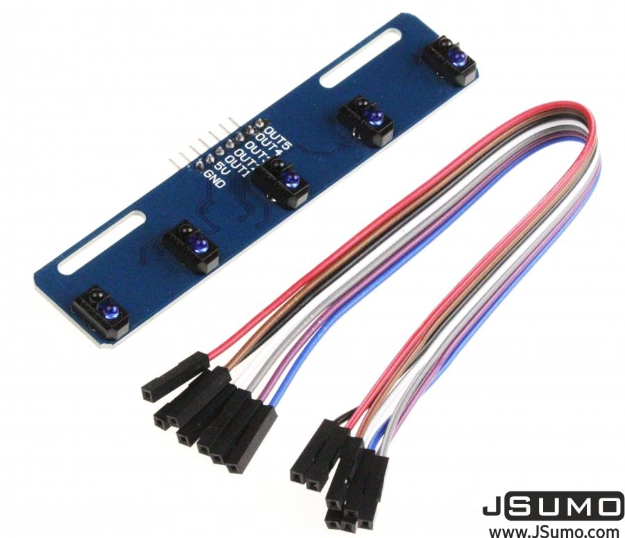 5 Sensor Array Board