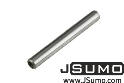 Jsumo - Ø5 x 40mm Hardened Steel Shaft (with M3 Threaded Hole)