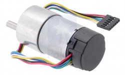 50:1 Metal Gearmotor 37Dx70L mm with 64 CPR Encoder - Thumbnail