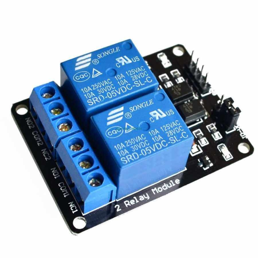 5V 2 Channel Relay Board
