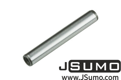 Jsumo - Ø6 x 40mm Hardened Steel Shaft (with M4 Threaded Hole)