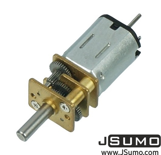 6V 320Rpm 100:1 Micro Metal Gearmotor (HP)