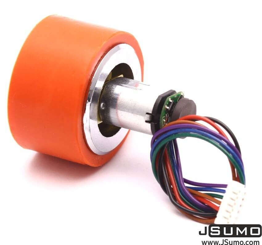 MP12 6V 630 RPM High Power Micro Gearmotor With Encoder