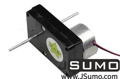 Jsumo - 6V Double Shaft DC Motor w/Plastic Gearbox