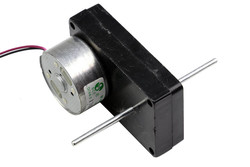 6V Double Shaft DC Motor w/Plastic Gearbox - Thumbnail