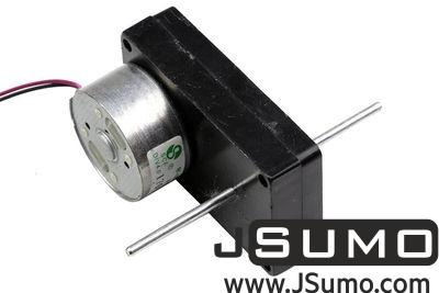 Jsumo - 6V Double Shaft DC Motor w/Plastic Gearbox (1)