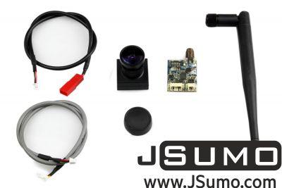 - 700TVL Camera (NTSC Version) and 5.8GHZ Transmitter Set for FPV