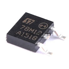 - 78M12 Linear Voltage Regulator 12V 500MA (10 Pcs Pack)