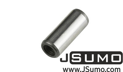 Jsumo - Ø8 x 20mm Hardened Steel Shaft (with M5 Threaded Hole)