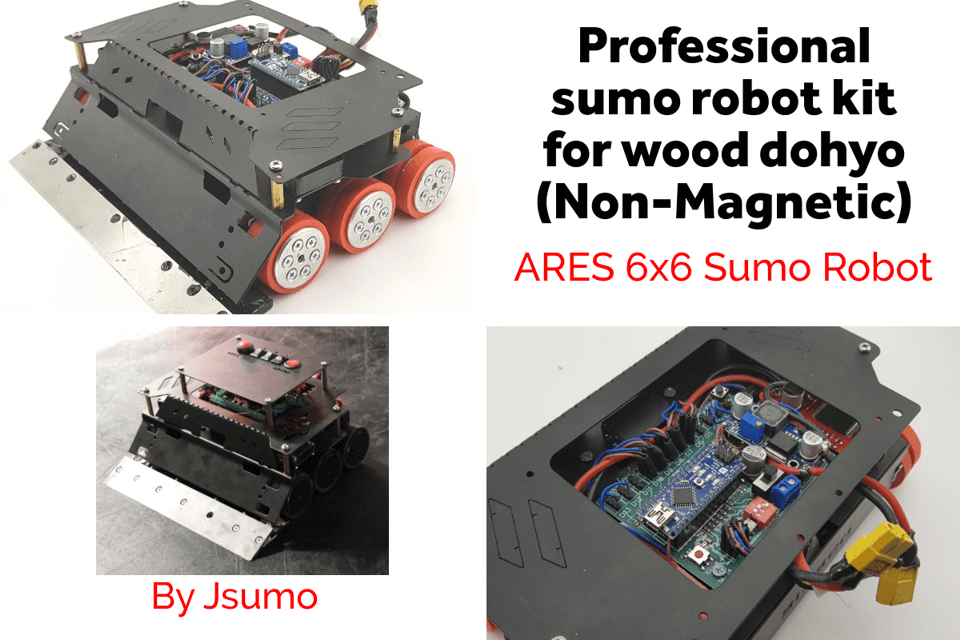 Ares-Sumo-robot-for-wood-dohyo