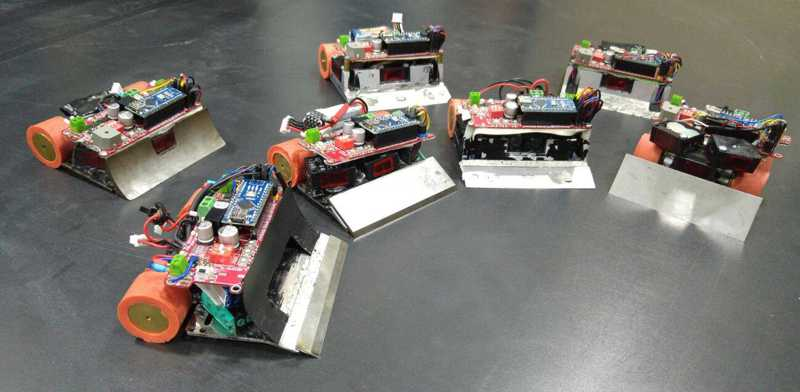 Mini sumo robot projects