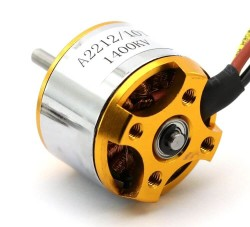 A2212 1400KV Outrunner Brushless Motor - Thumbnail