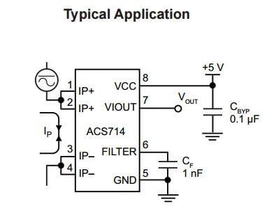 ACS714-30A Current Sensor