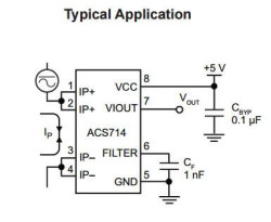 ACS714-30A Current Sensor - Thumbnail