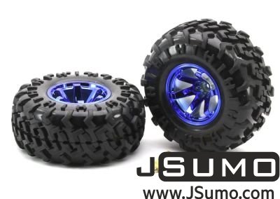 Jsumo - All Terrain Robot Wheel Pair (130mm x 59mm)