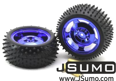 Jsumo - All Terrain Robot Wheel Pair (87mm x 39mm) (1)