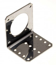 Aluminum Bracket for Nema 23 Stepper Motors - Thumbnail