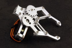 Aluminum Gripper with Futaba S3003 Servo Motor - Thumbnail