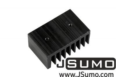 - Aluminum Heat Sink (32mm x 50mm x 23mm) (1)
