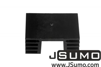 - Aluminum Heat Sink (48mm x 35mm x 19mm) (1)