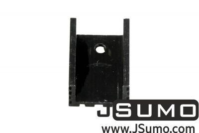 - Aluminum TO 220 Heat Sink (15mm x 20mm x 10mm) (1)