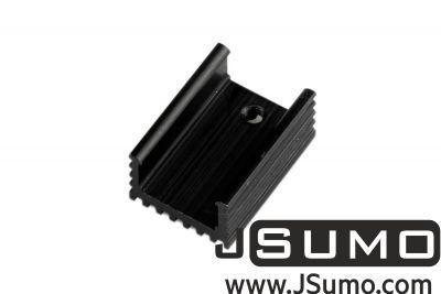 - Aluminum TO 220 Heat Sink (15mm x 21mm x 10mm)