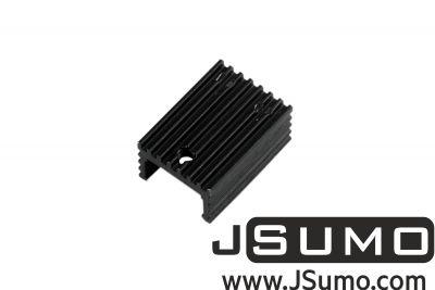 - Aluminum TO 220 Heat Sink (15mm x 21mm x 10mm) (1)