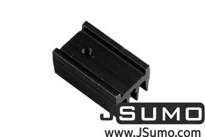 - Aluminum TO 220 Heat Sink (15mm x 25mm x 12mm) (1)